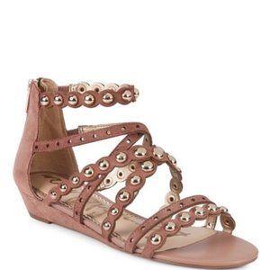 Sam Edelman Sz 9 Gladiator Strappy Studded Sandals